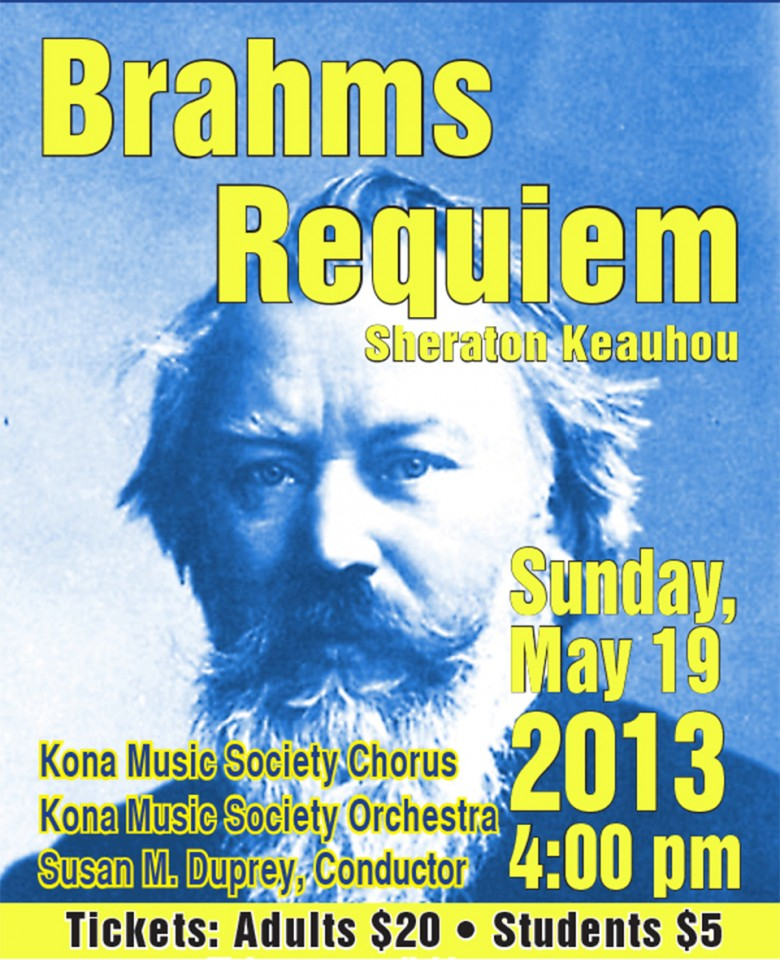 Brahms' Requiem concert video (LINK)
