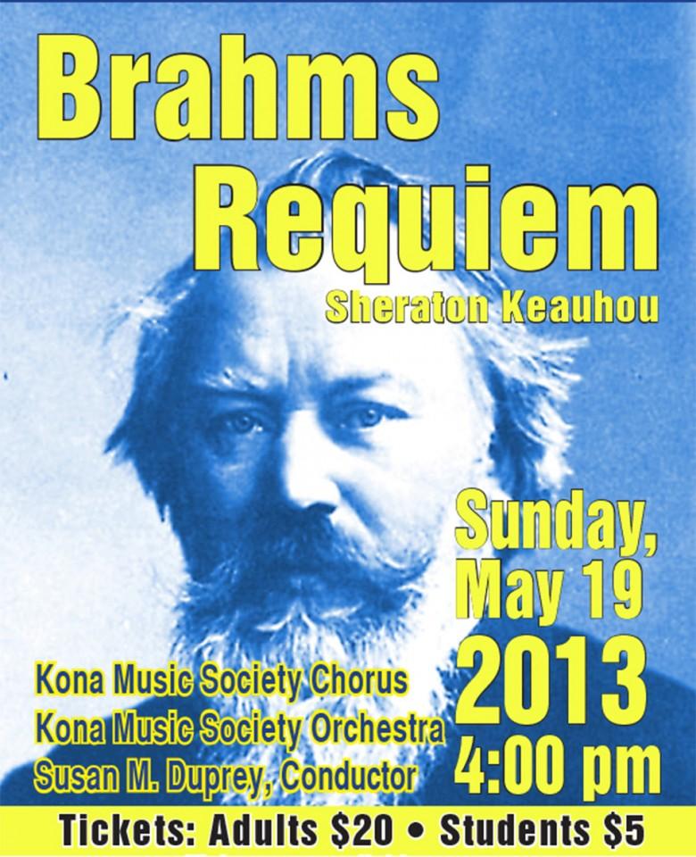 Brahms' Requiem concert video (LINK)