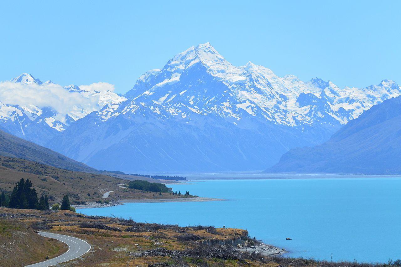 Aoraki / Mount Cook, New Zealand, credit https://www.flickr.com/photos/giiku/16340529756/
